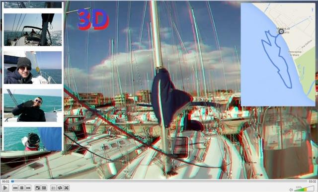 Video 3D, Mappa, foto